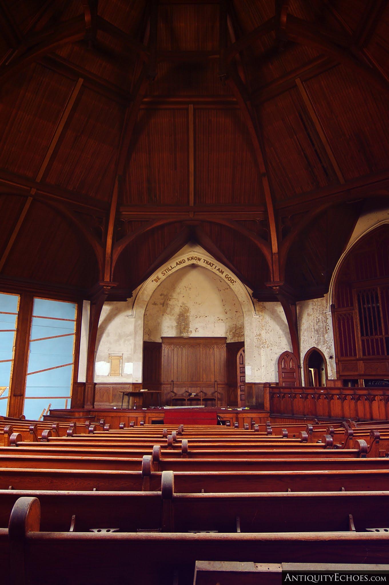 Third Presbyterian - Worship Hall and Vaulted Ceiling