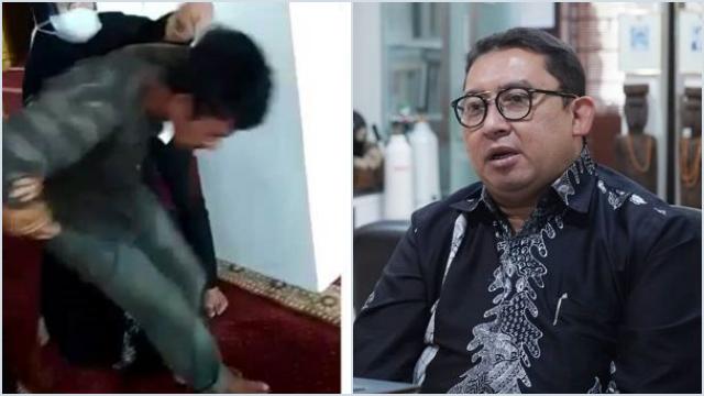 Fadli Zon: Pelaku Penyerangan Ustaz Dilabeli Gila, Jika ke Agama Lain Dicap Teror*s