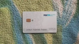 Paytm Payments Bank Card
