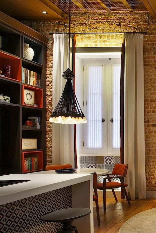 Interior Design of Warm Nuanced Modern Studio Apartment ...