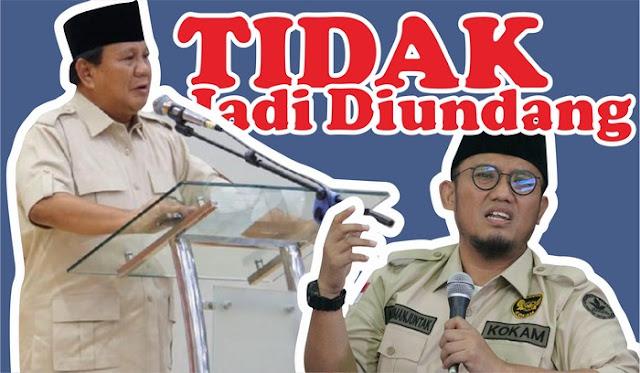 Prabowo Tak Diundang Muktamar Pemuda Muhammadiyah: Tampang Saya Kurang Menyenangkan