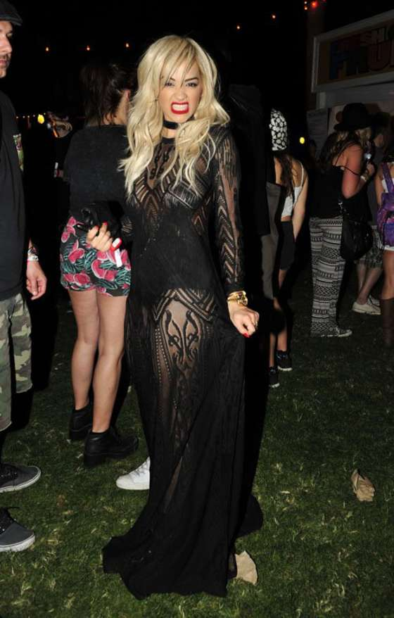 Rita Ora at the 2014 Coachella Music and Arts Festival