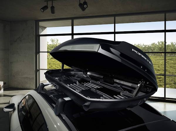 Porsche Taycan Cross ganha caixa de teto Performance