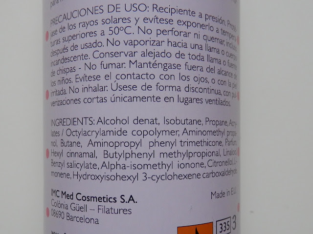 fixonia laca ingredientes