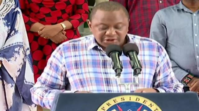 President, Uhuru Kenyatta