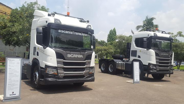 Dapatkan Kendaraan Scania di Distributor Truk dan Bus United Tractors