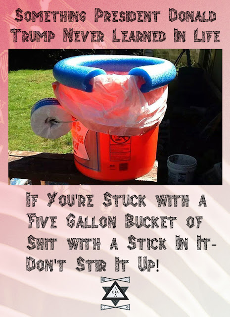 Don't Stir the Bucket Up!