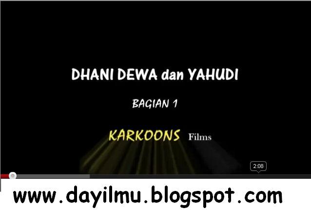 Bukti] Dhani Dewa dan Yahudi [Part 1] | Dayilmu