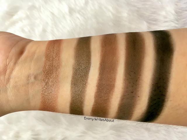 Morphe 25A Copper Spice Eyeshadow Palette Swatches