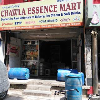 Baking Accessory store in General Bazar Hyderabad