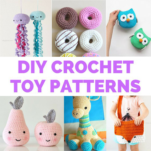 DIY Crochet Toys - Free Patterns