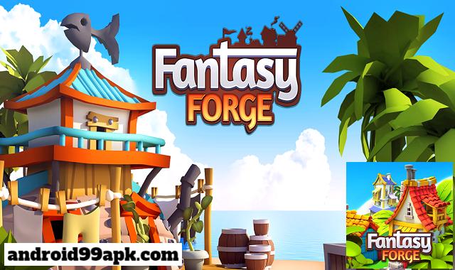 لعبة Fantasy Forge v1.4.2 مهكرة (بحجم 86 MB) للأندرويد