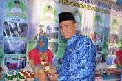 Bupati Wajo Membuka Pameran Bumdes Expo di Kawasan Rumah Adat Atakkae