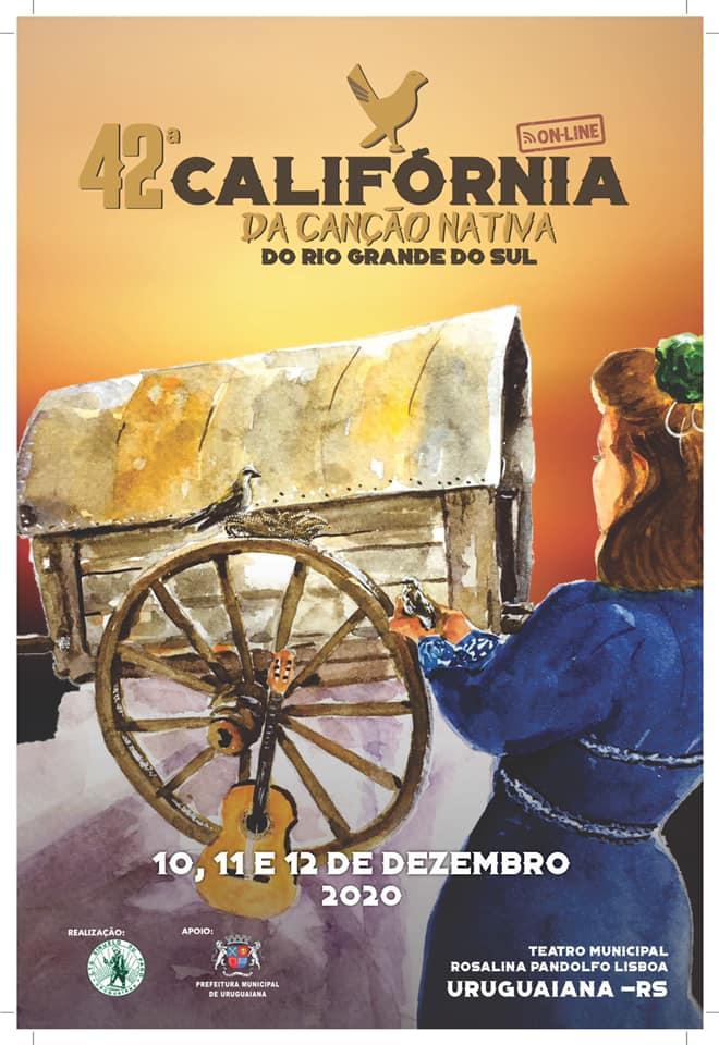 42ª edição da Califórnia da Canção Nativa do Rio Grande do Sul – ONLINE