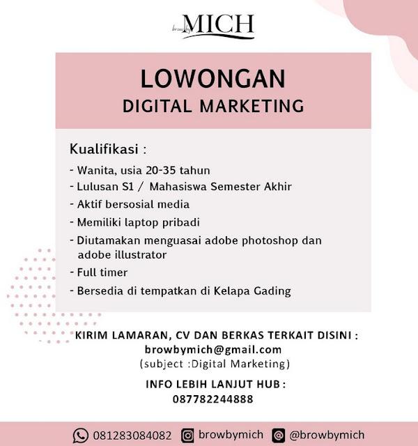 Contoh Iklan Lowongan Pekerjaan Digital Marketing