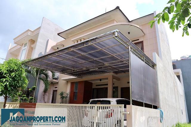 Rumah mewah dijual Permata Jingga Malang