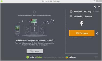 instal armbian linux ubuntu bionic di stb hg680p