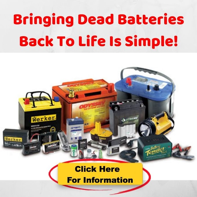 How to Bring a Dead Rechargeable Battery Back to Life