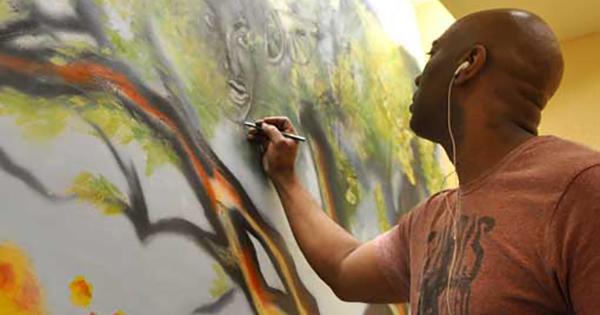 Corey Barksdale, founder of Corey Barksdale Fine Art Gallery