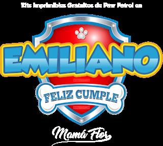 Logo de Paw Patrol: Emiliano