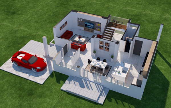 5 Cara Membuat Denah Rumah Sederhana