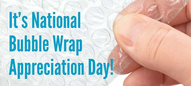 National Bubble Wrap Appreciation Day Wishes Images
