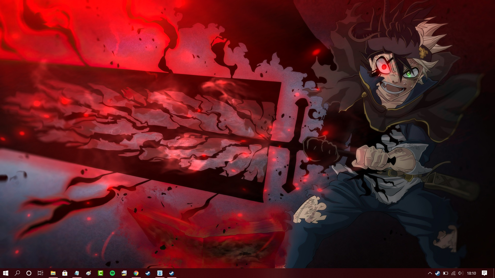 Black Clover Live Wallpaper Android and Desktop/PC