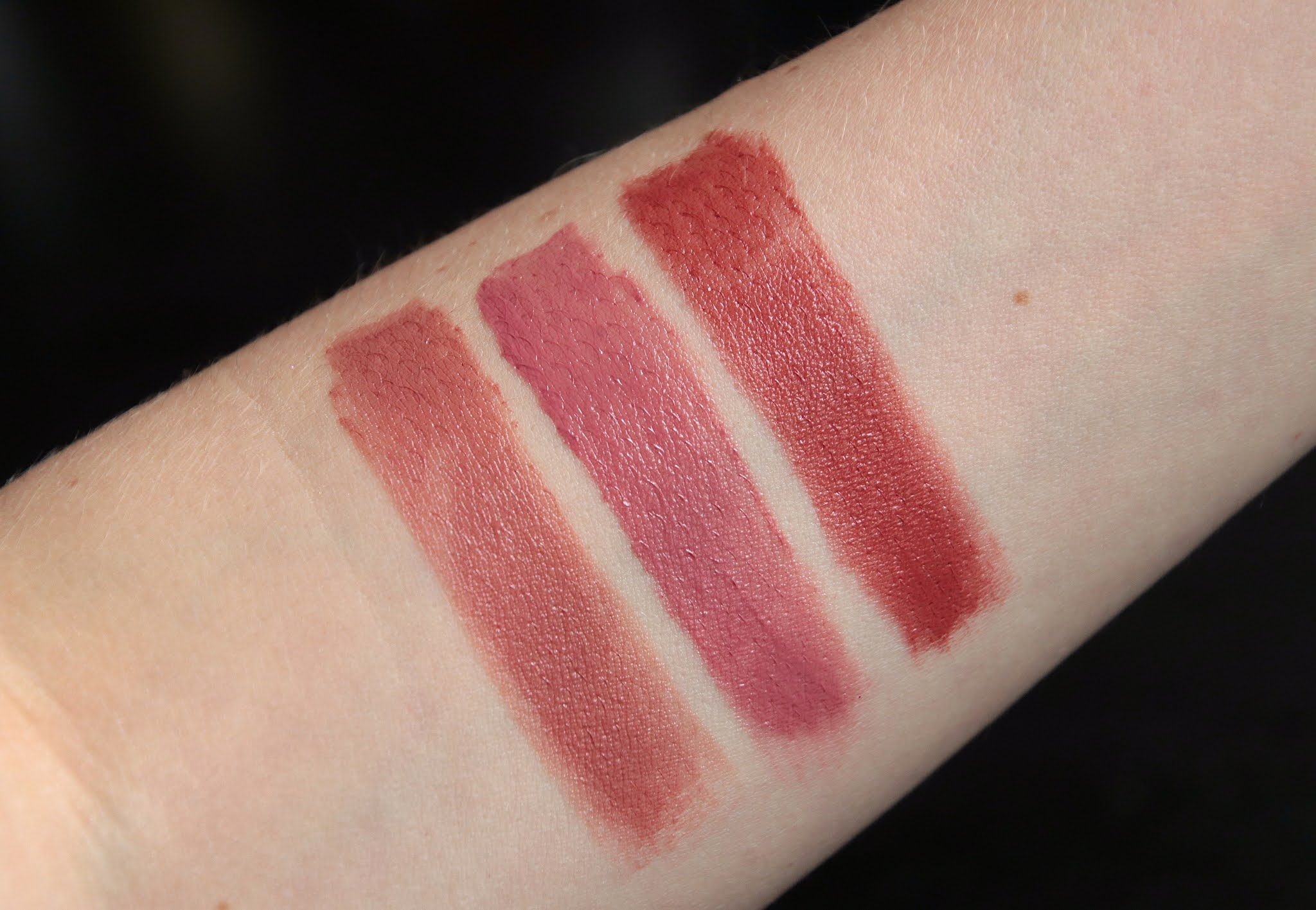 By Terry 4 dare to bare 5 secret kiss 6 love affaire swatch