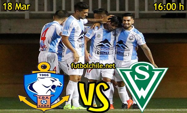 Ver stream hd youtube facebook movil android ios iphone table ipad windows mac linux resultado en vivo, online: Deportes Antofagasta vs Santiago Wanderers