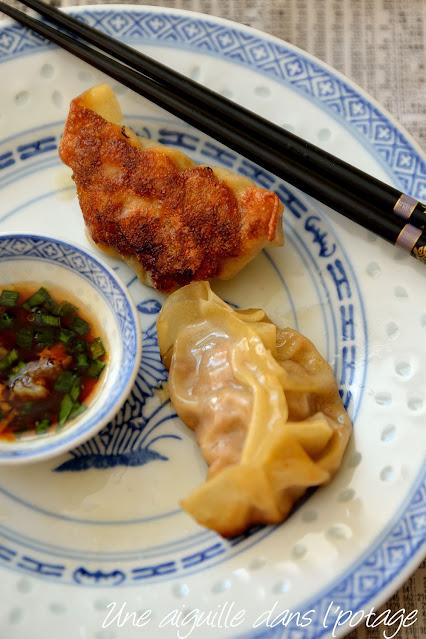 gyoza-porc-ravioli-japonais-cuisine asiatique