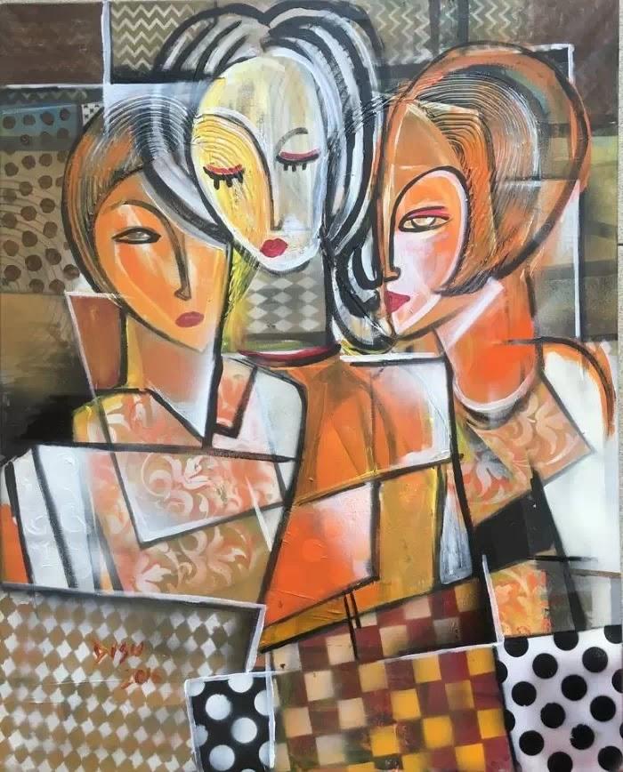 Нигерийский художник. Dada Adesoji Disu