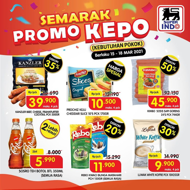 Katalog Superindo Semarak Promo Kebutuhan Pokok (s.d 18 Maret 2021)