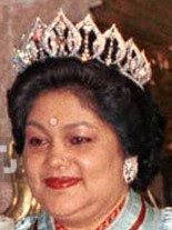 diamond lotus tiara queen komal nepal
