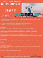 Loker Surabaya di PT. Media Nusa Mandiri Juli 2020