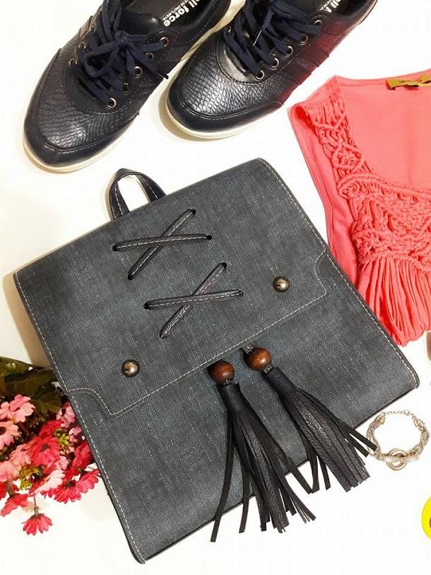 ayakkabı, kot sırt çantası