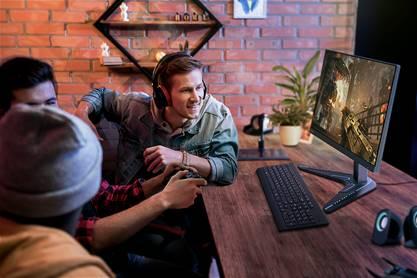 Monitores de gaming IPS da Lenovo trazem a potência necessária para dominar