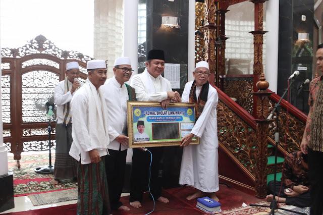 Gubernur Herman Deru  Resmikan Masjid Al Muhajirin OPI