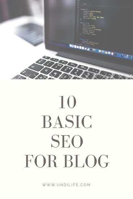 Basic SEO untuk Blogger