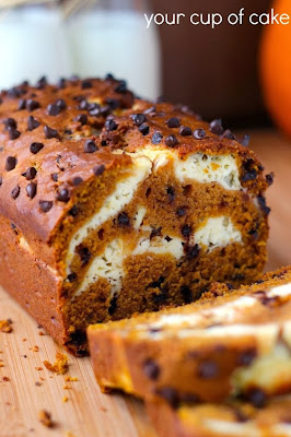 Pumpkin Cheese Cream Bread