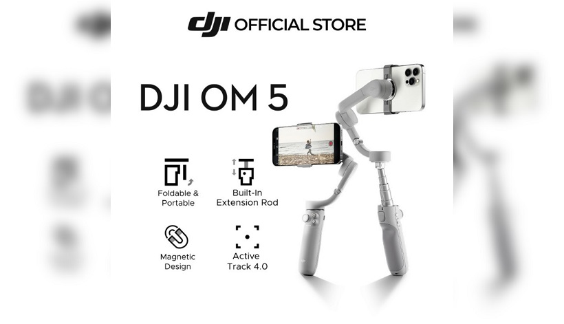 Get the DJI Osmo Mobile 5 in Shopee Brand Giveaways and 10.10 Brands Festival Sale