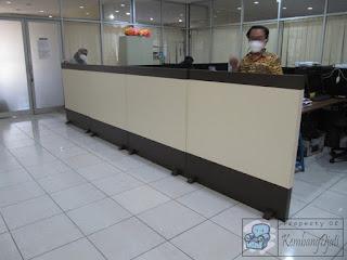 Partisi Ruangan Kantor Bisa Pindah Tempat - Furniture Semarang