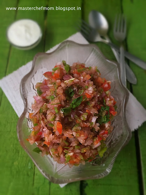 Pico de Gallo | Mexican Salsa Fresca | How to make Salsa at Home