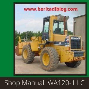 Komatsu wa120-1 LC shop manual wheel loader