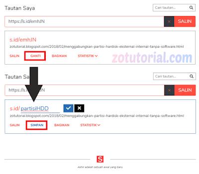 Cara Membuat Short Link Agar URL Menjadi Pendek Banget | Shortener URL s.id