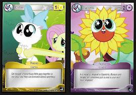 My Little Pony Yellow Critter, Purple Figment Token High Magic CCG Card