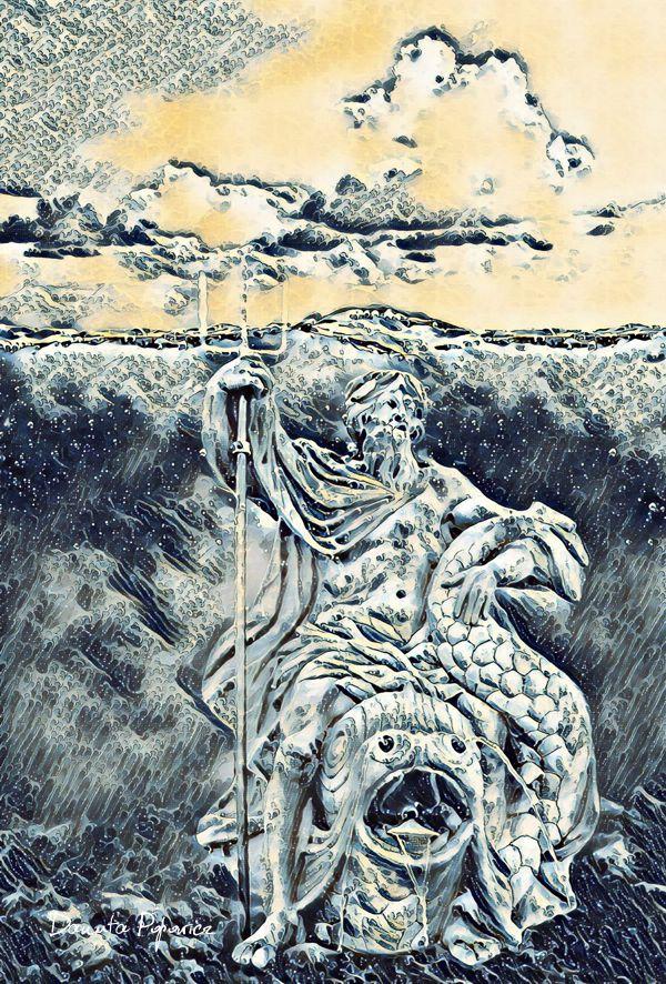 grafika Sen Neptuna
