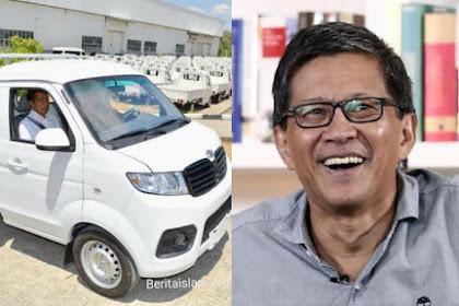 Diresmikan Jokowi, Mobil Esemka Kena 'Sentil' Rocky Gerung