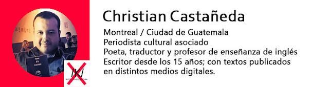 Escritor Christian Castañeda