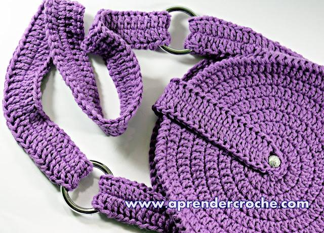Edinir Croche ensina bolsa de crochê passo a passo para iniciantes