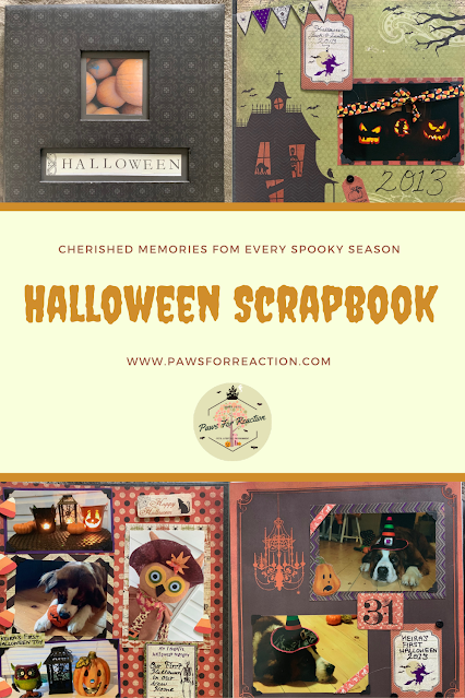 Halloween scrapbook ideas